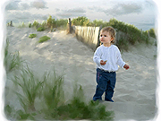 Ocean View Portrait Paintings